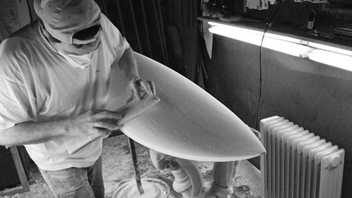 Gérard DUVAL shaper Slide Surfboards